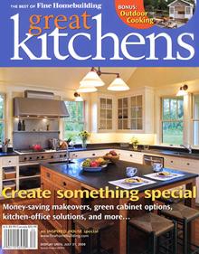 Fine Homebuilding Great Kitchens magazine
