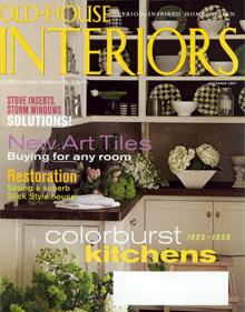 Old-House Interiors magazine