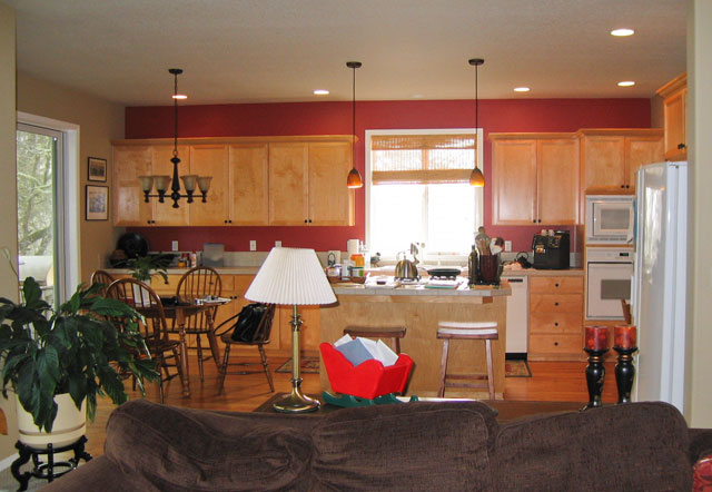 before the kitchen remodel