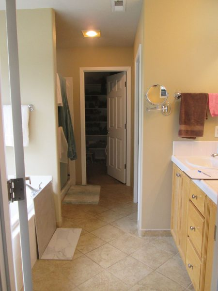 Luxurious Master Bathroom Remodel - Before