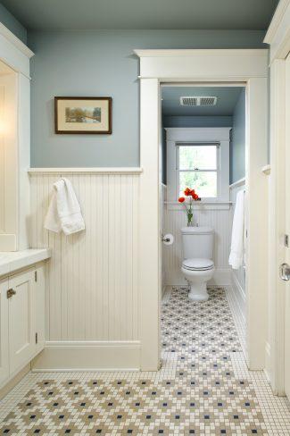 Serene Bungalow Bathroom Expansion Deb Kadas Interior Design Studio - Bathroom expansion before and after