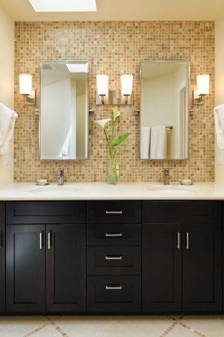 easy-care vanity