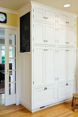 pantry storage cabinets designed by Deb Kadas