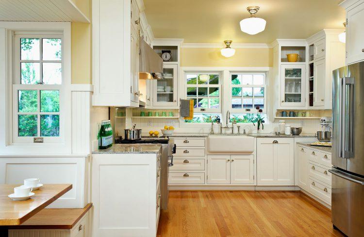 classic American kitchen designed by Deb Kadas
