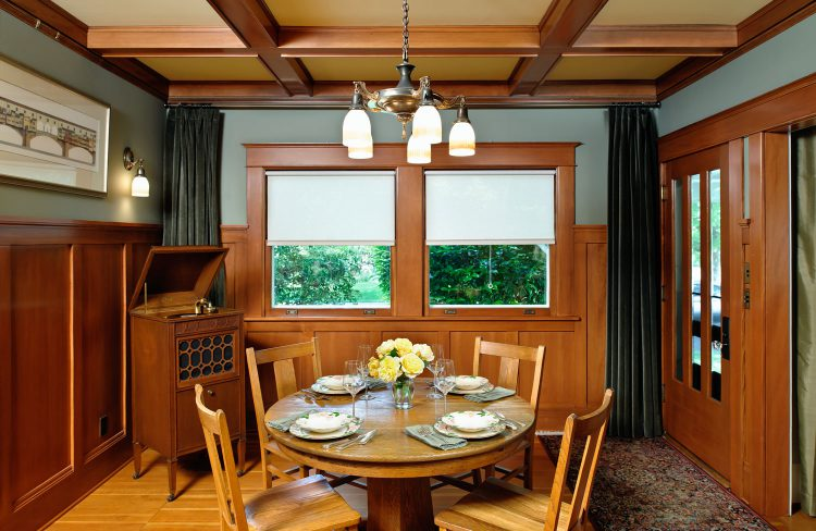 Bungalow dining room design by Deb Kadas