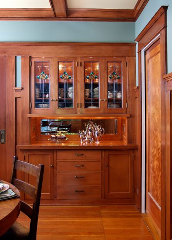 Craftsman-style sideboard