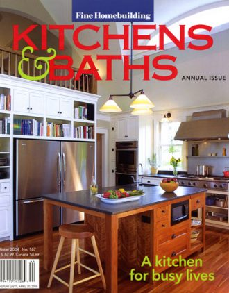 Fine Homebuilding Kitchens & Baths cover
