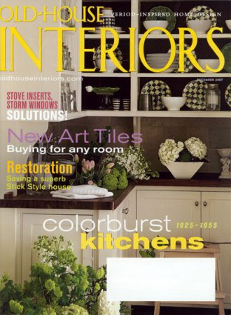 Old-House Interiors magazine