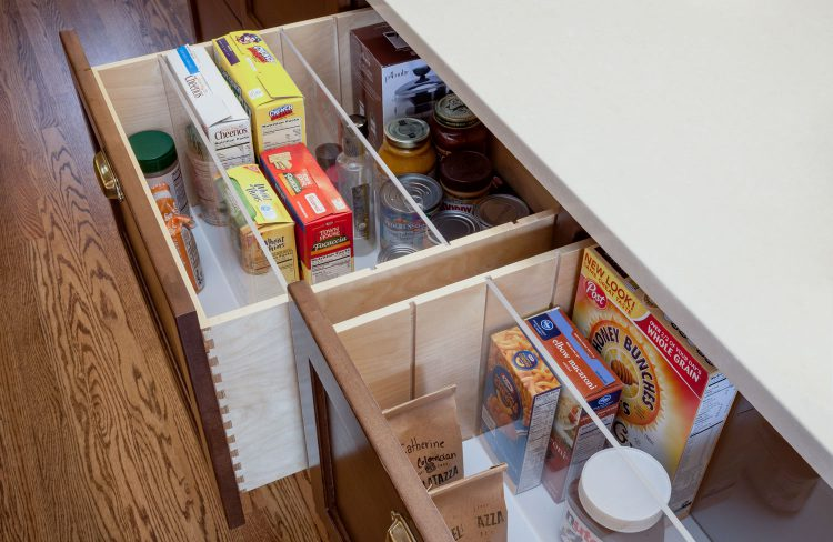 deep customizable drawers