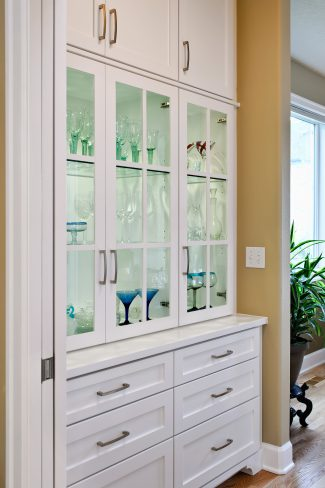 butler's pantry cabinet