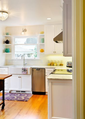 light, bright kitchen